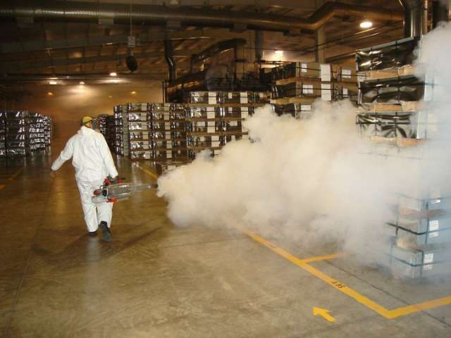 Fumigacion a Almacen